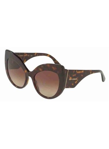 Dolce&Gabbana Dolce & Gabbana 4321 502/13 55 Ekartman Kadın Güneş Gözlüğü Kahve